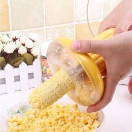 Corn Stripper / Shaver — All Kernels with 1 Cutting Pass
