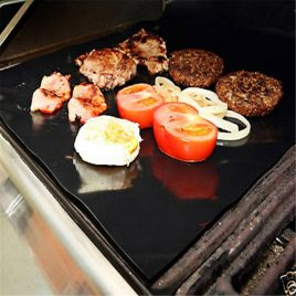 Teflon Barbecue Grill Mat for Microwave, Oven, and BBQ